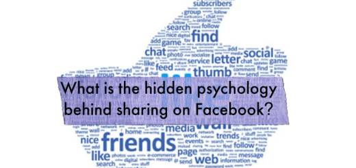 What is the hidden psychology behind sharing on Facebook