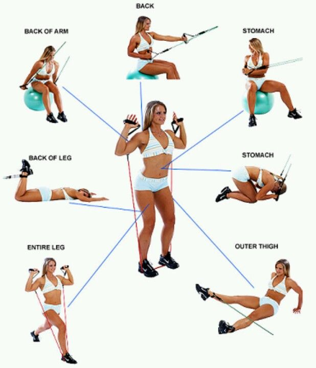 7 Work your whole body!