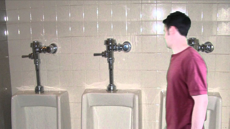 Your bladder grows visibly before you pee