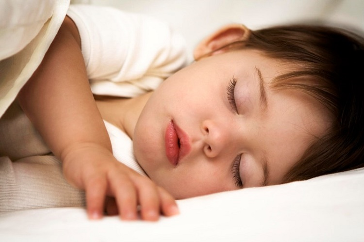 A regular bedtime cures naughtiness in children