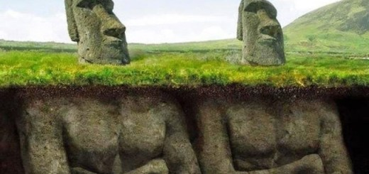 Amazing discovery underneath the Easter Island heads