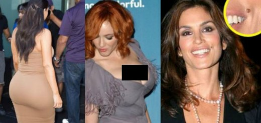 10 celebrities who are famous for their body parts, which are your favourite?