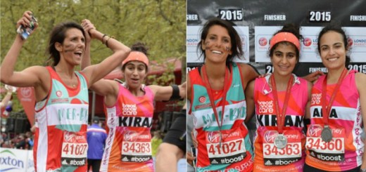 Amazing!! This woman ran a marathon while on her period to prove a point
