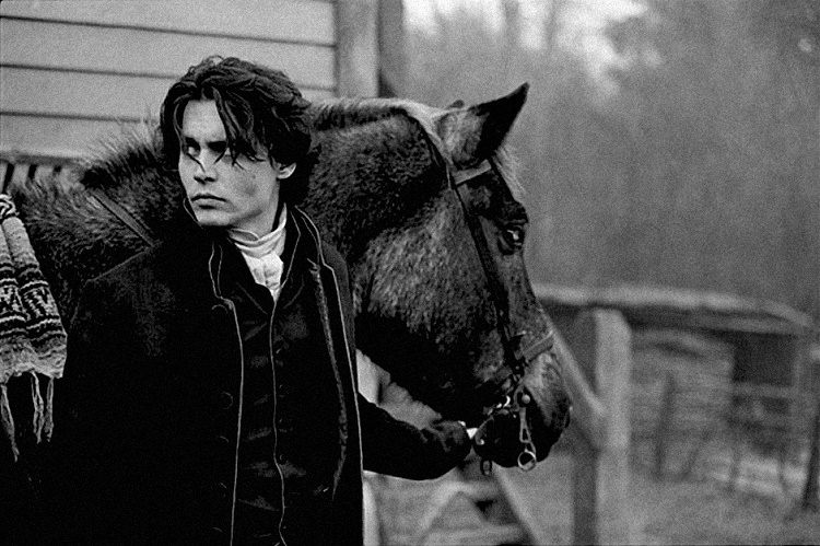 Depp adopted the one-eyed horse who was featured in a movie named Sleepy Hollow