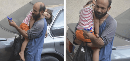 Learn why this image of a Syrian father and daughter went viral