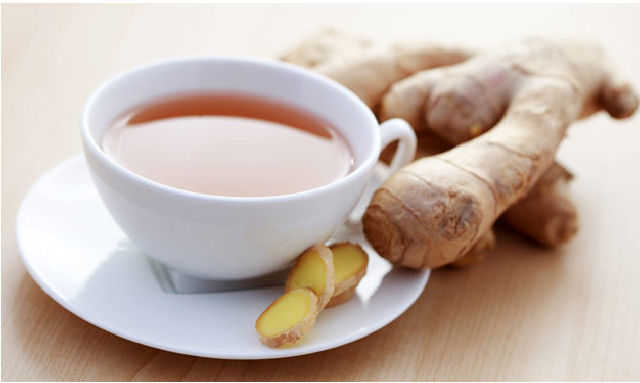 Take ginger tea with honey