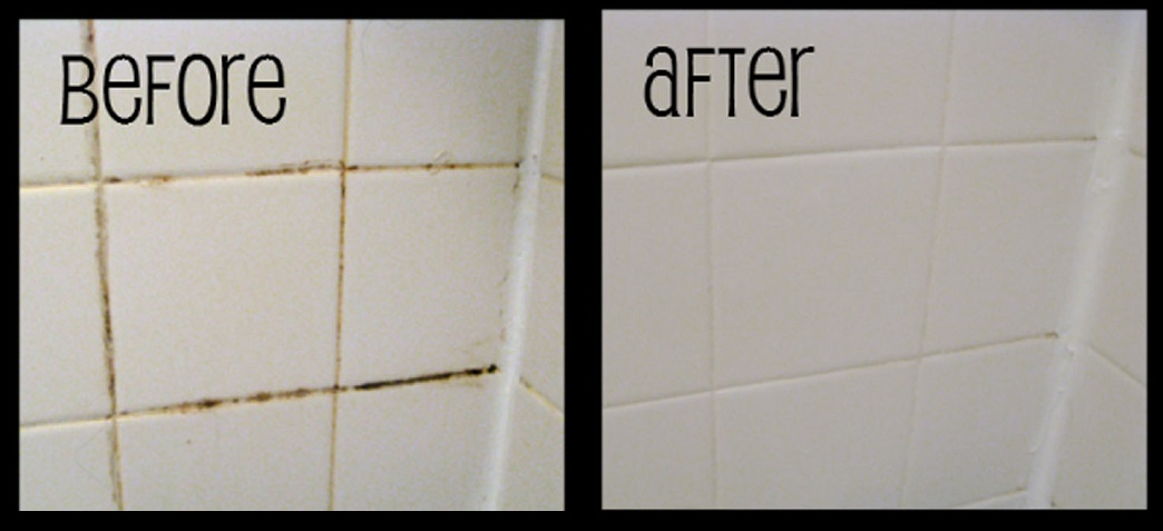 How to make shower grout all shiny again