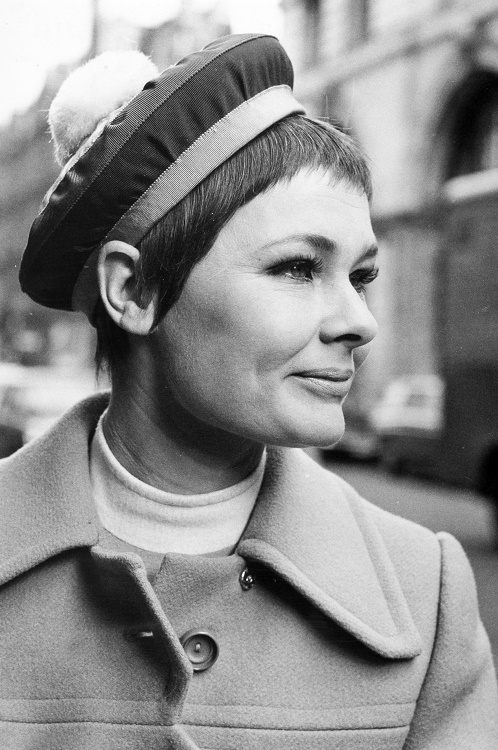 Judi Dench in her youth