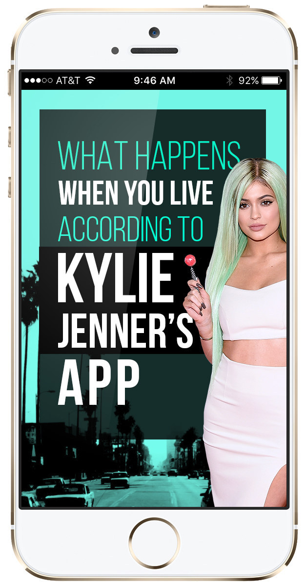 Kylie Jenner and her app