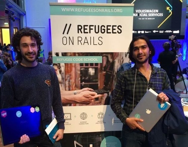 Project Refugees on Rails
