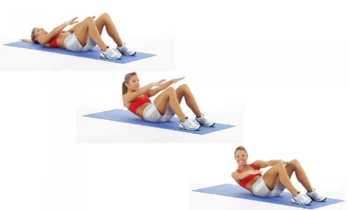 Tummy toning exercises