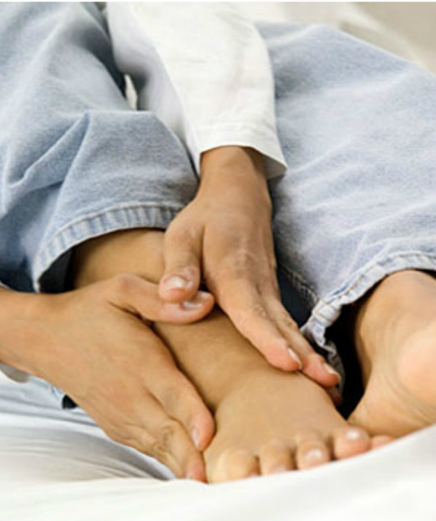 Foot pain and numbness