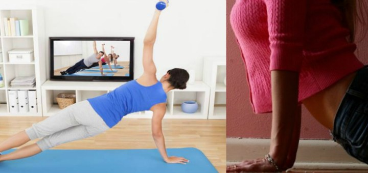 A study report says that exercise DVDs may have negative psychological effect on users!