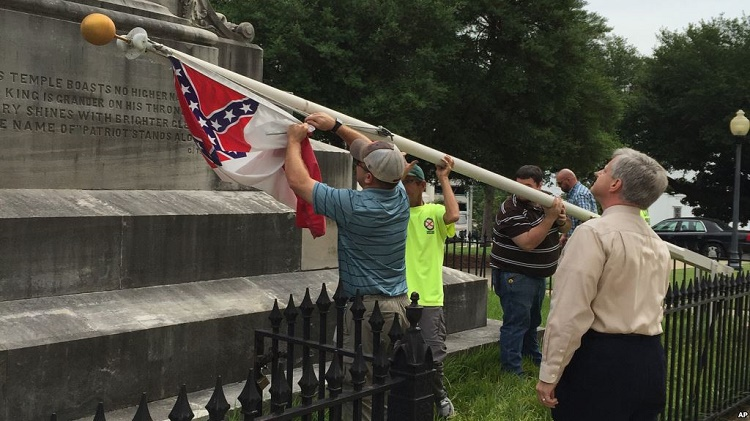 Confederate Flag taken down