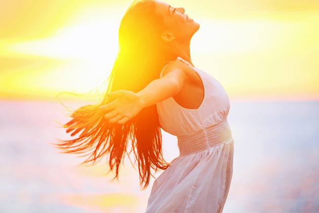 Soak up in the sun for a variety of health benefits