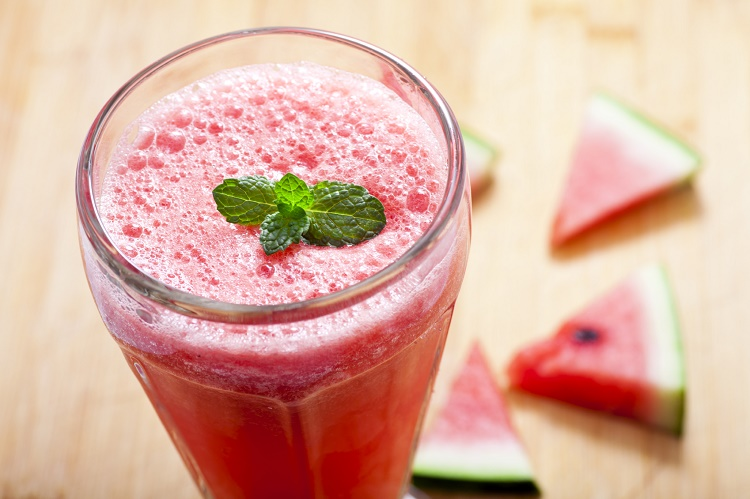 Watermelon and Mint Smoothie