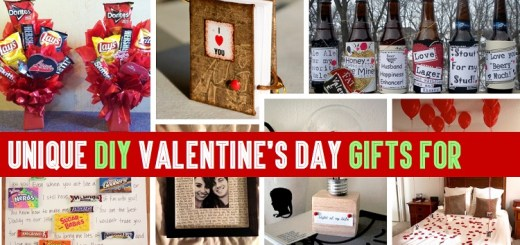 15 best DIY Valentine's Day gifts that he'll love!