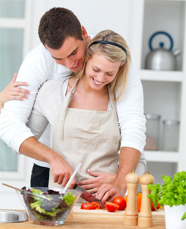 Go for a dinner-making date!