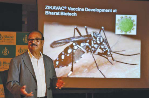 Indian Scientists Used Genetic Engineering to Develop the ZIka Vaccine