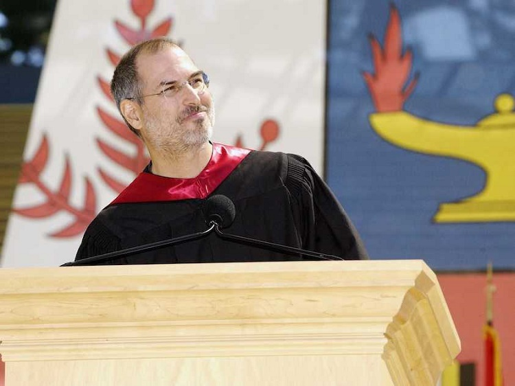 Jobs was a Stanford University dropout