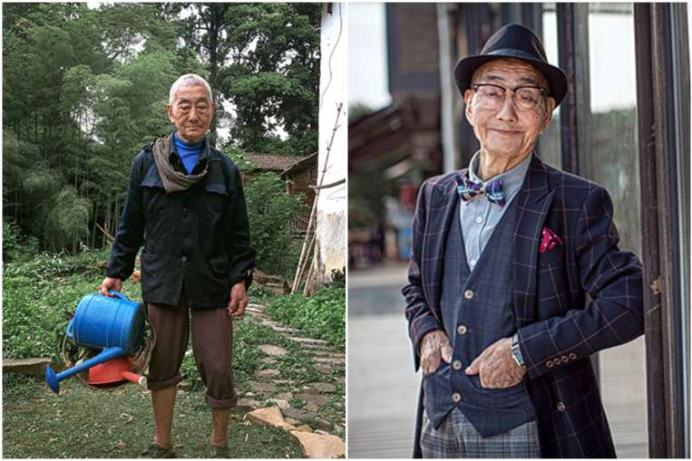 Transformation from Farmer to a Fashion Icon
