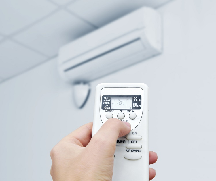 When indoors, use air-conditioned rooms or rooms with window screens