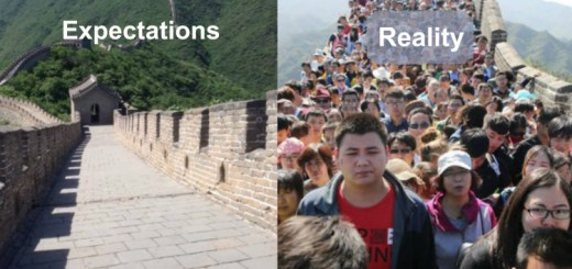 12 Images that will ruin your perception of travel expectation vs. reality of the place