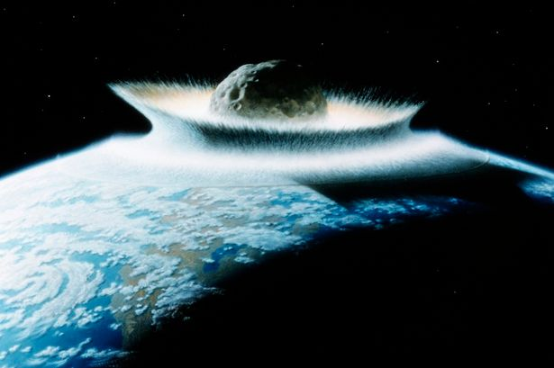Asteroids Can Destroy Life, But Their Impact Can Create Life Too