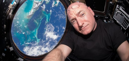 Astronaut Scott Kelly lived in space for almost a year. Check out some of the best pictures taken by him!