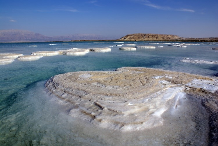 Dead Sea waters cure a variety of skin diseases
