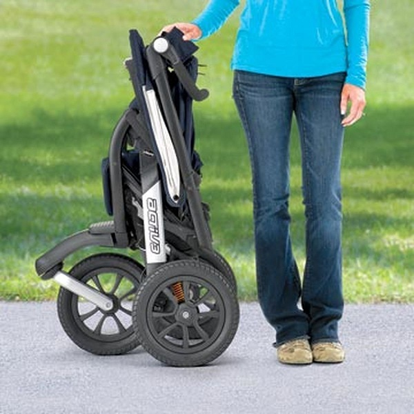 Label the Stroller with Instructions for Unfolding