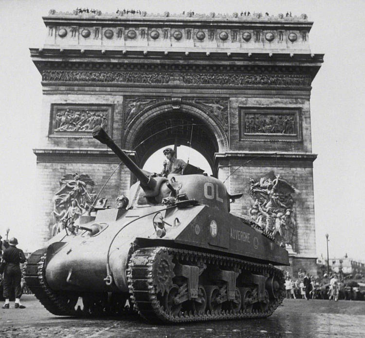 Liberation of Paris,France.1944