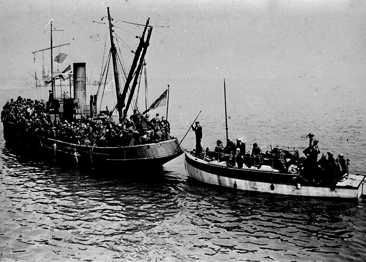 Operation Dynamo Evacuation at Dunkirk, 1940