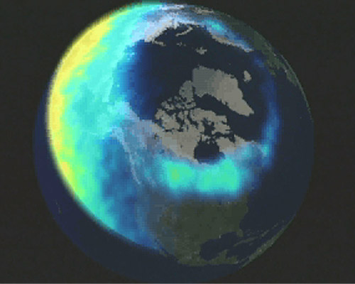 The Aurora Borealis Can Also Be Seen From Space