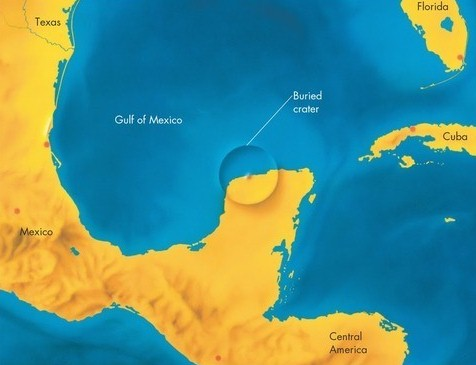The Famous Chicxulub Crater Was Discovered Only In 1950 by an Oil and Mining Company