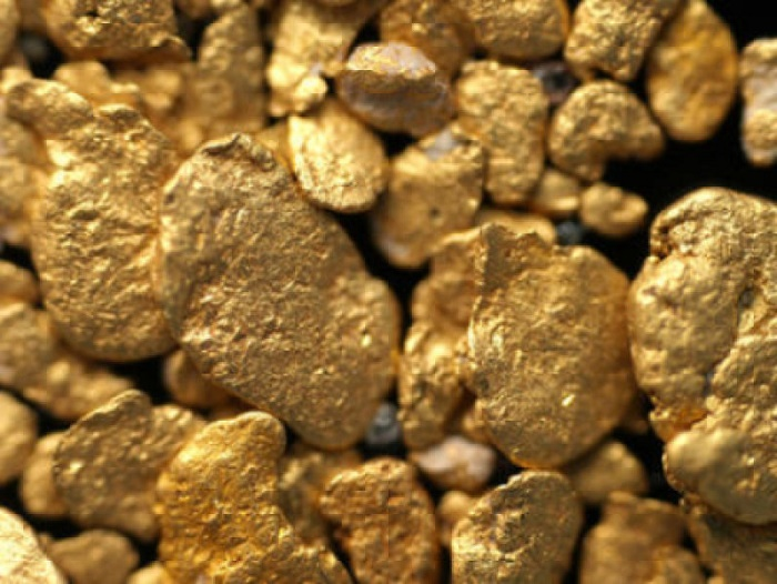 gold came from the asteroids striking