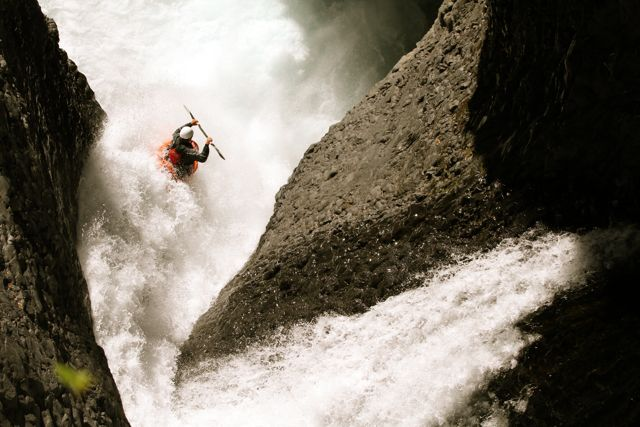 Chile's white water kayaking