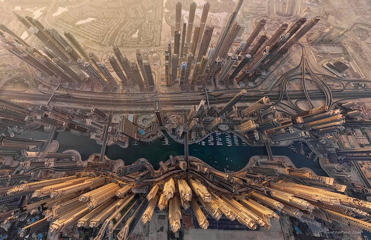 The Dubai Marina, UAE