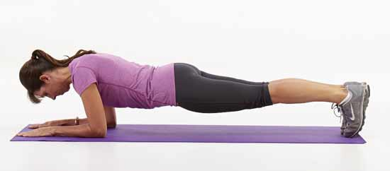 The plank exercise