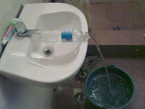 Your Own Makeshift Water Dispense