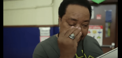 A Janitor was asked to clear a spill in the gym. What happens next will leave you in tears