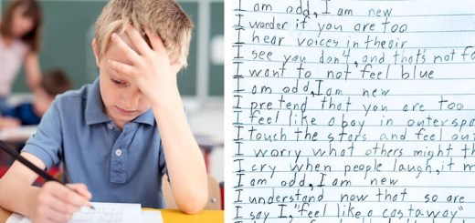 Heart touching poem by this 10-year-old boy with Asperger's will leave you in tears