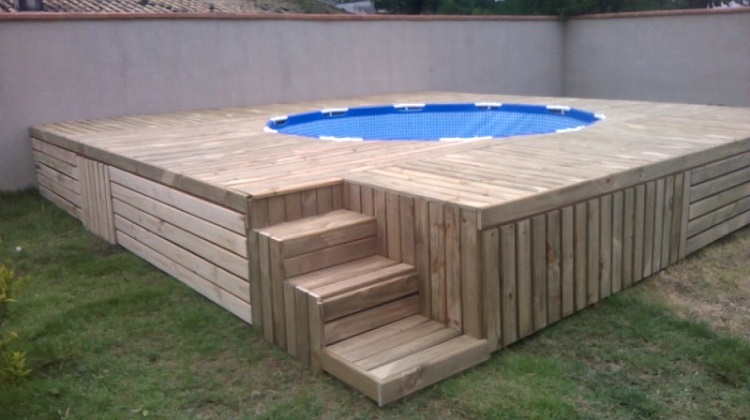 The best swimming pool made by a great dad!