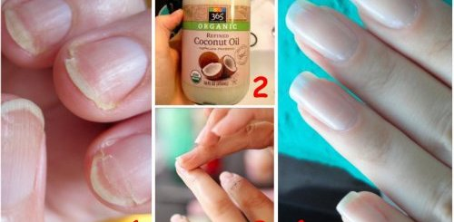 Use coconut oil to take care of your nails hair and teeth
