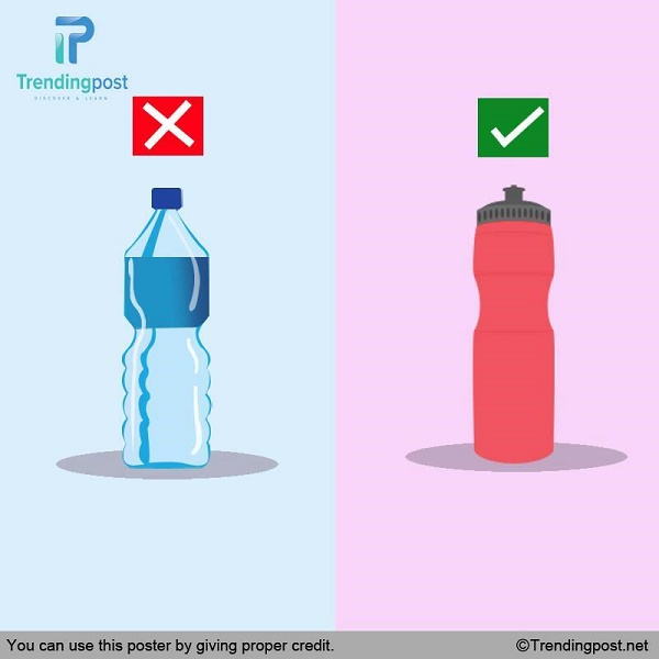 Fill a Bottle of Water Before You Venture Out