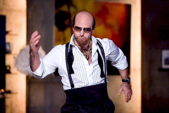 His character in Tropic Thunder was his own creation