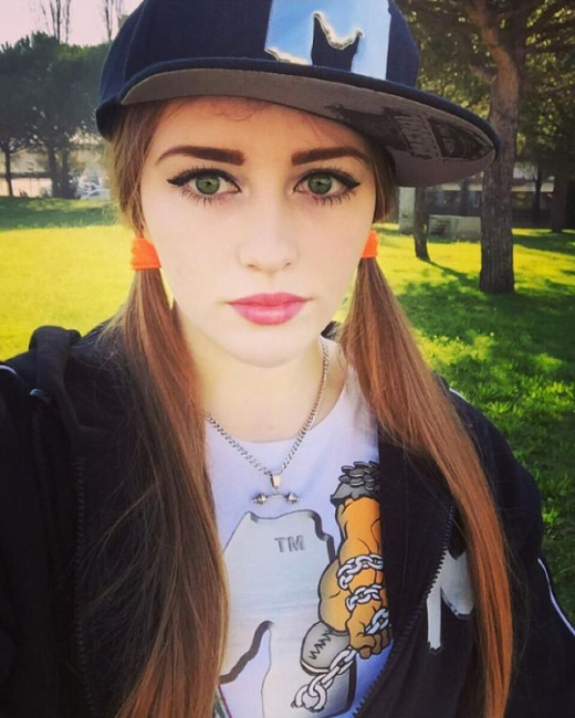 Julia Vins, from Russia