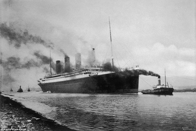 The RMS Titanic 1912