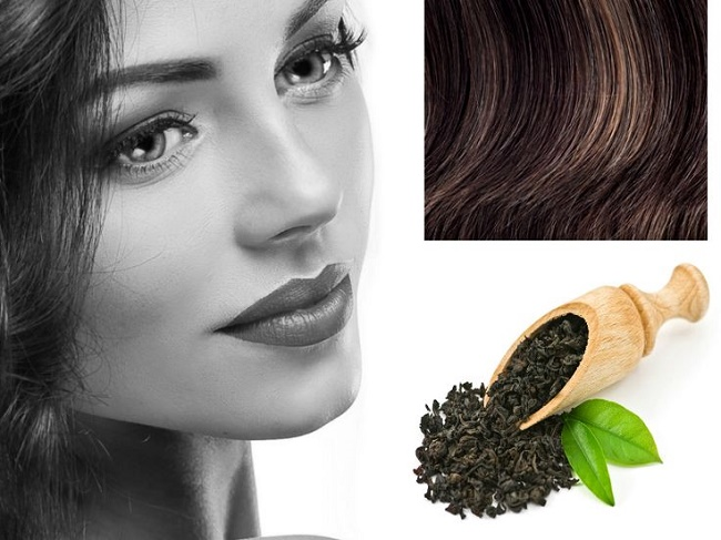 tea can offer you gorgeous looking hair