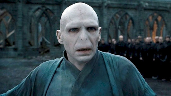 villain in harry potter movie